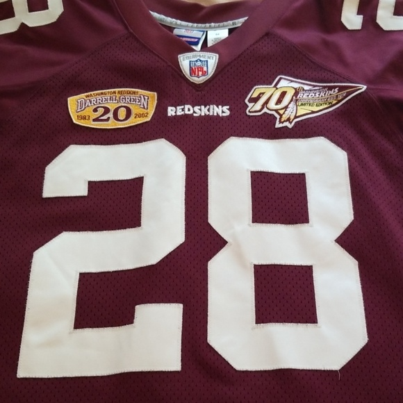 best website 3494c 30c05 Darrell Green RedSkins Throwback Jersey